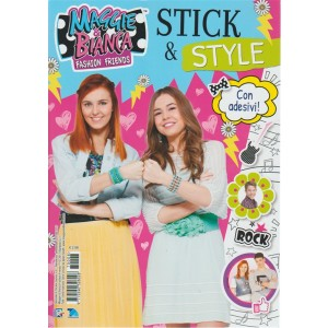Maggie & Bianca Fashion Friends - Stick & Style con adesivi