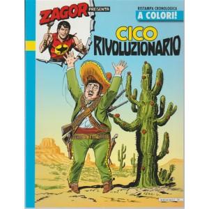 """Collana Grandi Storie bimest.vol.83 -Zagor Presenta """"Cico rivoluzionario - n.22"""""""