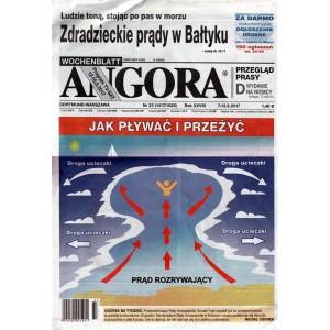 Angora - settimanale in lingua Polacca n. 33 - 7 Agosto 2017