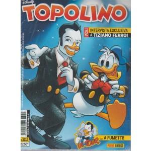 Topolino Disney- settimanale n.3212 -14 Giugno 2017 - Intervista a Tiziano Ferro