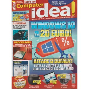 Il mio Computer Idea! - quattordicinale n.132 -24 Agosto 2017 - Windows 10 a 20€