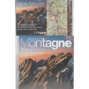 Meridiani Montagne - bimestrale n. 88 Settembre 2017 - Alpi Apuane con Cartina
