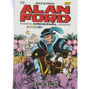 Alan Ford original a colori - mensile n.579 di Max Bunker - La Bisbetica Domata