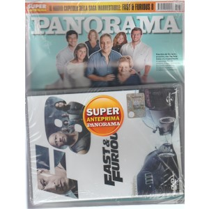 Panorama - settimanale n. 36(2674) - 24 Agosto 2017 + DVD Fast & Furious 8