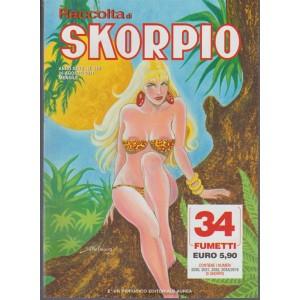 Raccolta di Skorpio - mensile di fumetti n. 530 Agosto 2017 - editoriale aurea