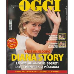 """Oggi numero da collezione - Lady Diana Story """"Vent'anni dopo"""""""