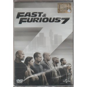 DVD - Fast & Furious 7 - Regista: James Wan