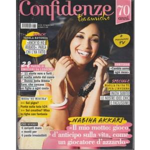 Confidenze - settimanale n. 35 - 22 Agosto 2017 - Nabiha Akkari