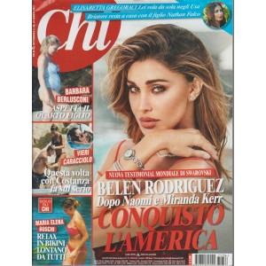CHI - settimanale n.36 -23 Agosto 2017 - Belen Rodriguez: conquisterà l'America