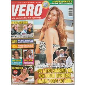 Vero - settimanale n. 34 - 31 agosto 2017 - Verinica Maya