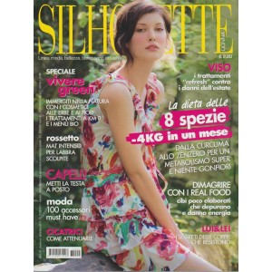 Silhouette Donna for.to Standard-mensile n.9 Settembe 2017 speciale vivere Green