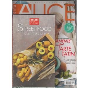 Alice Cucina - mensile n. 9 Settembre 2017 + Libro Street Food all'Italiana