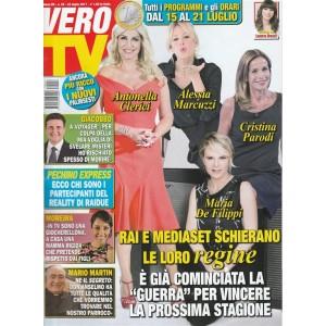 Vero Tv - settimanale n. 28 - 24 Luglio 2017 - Rai e Mediaset e le loro regine