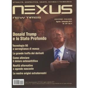 Nexus New Times edizione italiana - bimestrale n. 129 Agosto 2017 Donald Trump