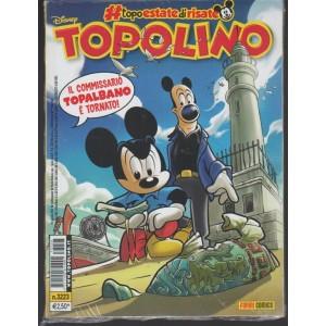 Disney Topolino-settim.n.3223 -30 Agosto 2017 il commissario Topalbano è tornato