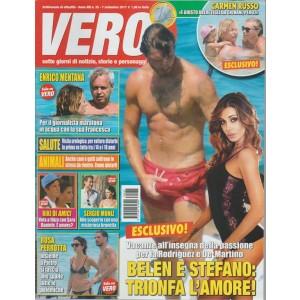 Vero - settimanale n.35 - 7 Settembre 2017 - Belen e Stefano Trinfa l'amore