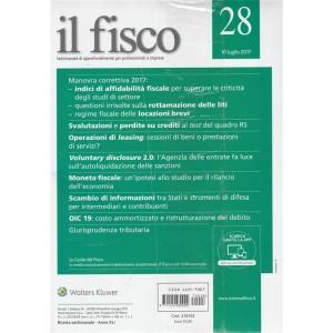 """Il Fisco - settimanale n. 28 - 10 Luglio 2017 """"Operazioni di Leasing"""""""