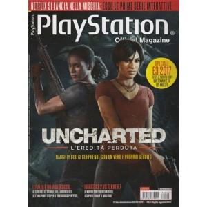 Playstation Official magazine-mensile n.42Luglio 2017-UNCHARTED l'Eredità perduta