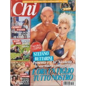 Chi - settimanale n. 37 - 30 Agosto 2017 - Stefano Bettarini presenta Nicoletta