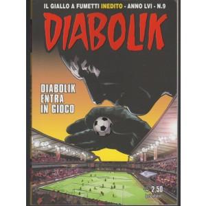 """Diabolik - mensile n. 9 settembre 2017 """" Diabolik entra in gioco"""