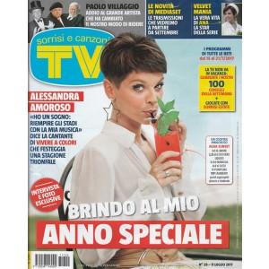 Sorrisi e Canzoni Tv - settimanale n. 29 - 11 Luglio 2017 - Alessandra Amoroso