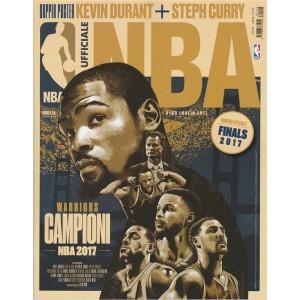 """Rivista Ufficiale NBA - mensile n. 123 Luglio 2017 """"Campioni NBA 2017"""""""