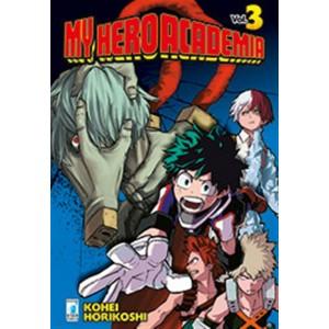 Manga: MY HERO ACADEMIA # 3 - Star Comics collana Dragon #216