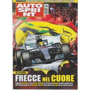 Autosprint - settimanale n.36 - 5 Settembre 2017 - GP d'Italia: frecce nel cuore