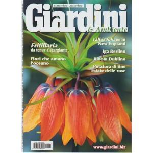"""Giardini & Ambiente -bimestrale n.287 Settembre 2017 """"Fritillaria"""" da tenue a..."""