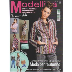 Modellina - trimestrale n. 168 Settembre 2017 - il Mio stile