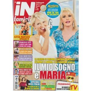 In Famiglia - settimanale n. 35 - 7 Settembre 2017 - Alessia Marcuzzi supermamma