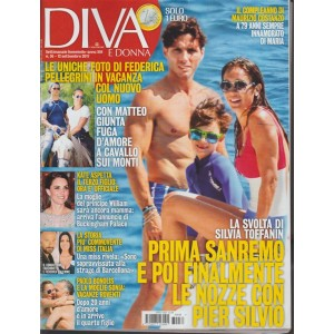 Diva e Donna -settimanale n.36 -12 Settembre 2017- Kate aspetta il terzo figlio