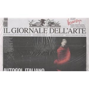 Giornale dell'arte - mensile n.378 Settembre 2017 + Vendere a Firenze e dintorni