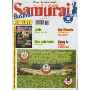 """Samurai Bushido Pugilato - mensile n. 9 settembre 2017 """"Solo chi osa vale"""""""