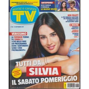 Sorrisi e Canzoni Tv - settimanale n. 38 - 12 Settembre 2017 - Tutti da Silvia