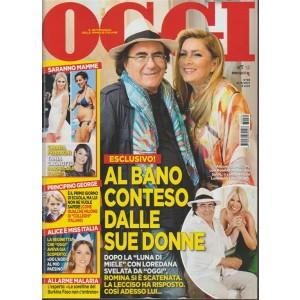 Oggi - settimanale n. 39 - 21 Settembre 2017 -  Albano conteso dalle sue donne