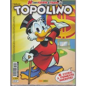 Disney Topolino - Settimanale n.3224 - 6 Settembre 2017 - 6 storie inedite