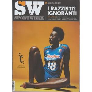 Sportweek - allegato n.37 alla Gazzetta dello Sport di sabato 16 Settembre 2017