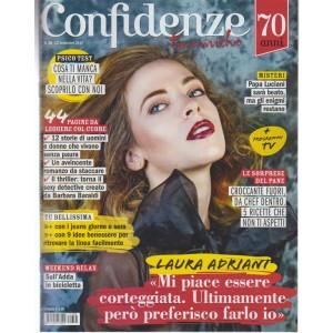 Confidenze - settimanale n. 38 - 12 Settembre 2017 - Laura Adriani