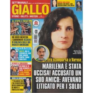 Giallo - settimanale n. 37 - 20 Settembre 2017 Serena Mollicone