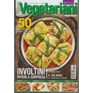 Vegetariani in Cucina -bimestrale pocket n.74 Ottobre2017 ZUCCA l'ortaggio dolce