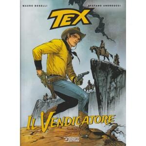 """TEX romanzi a fumetti - semestrale n. 6 - Settembre 2017 """"Il vendicatore"""""""