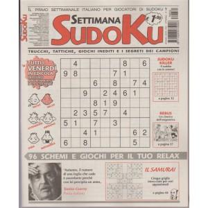 Settimana Sudoku n. 632 - 22 settembre 2017