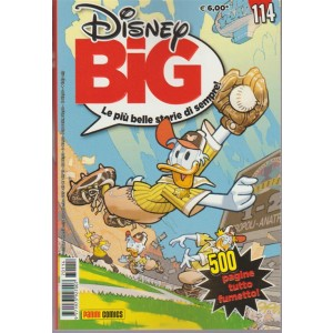 """Disney Big - mensile n. 114 Settembre 2017 """"500 pagine tutto fumetto"""""""