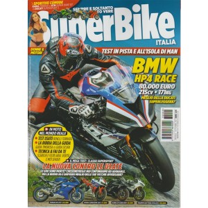 Superbike Italia - mensile n. 9 Settembre 217 - BMW HP4Race - 215 CV - 171KG