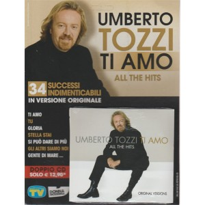 "Doppio CD - Umberto Tozzi "" Ti amo "": all the hits (original versions"