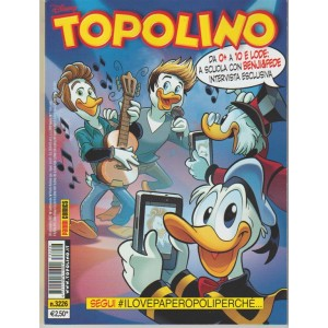 Disney Topolino - settimanale n. 3226 - 20 Settembre 2017