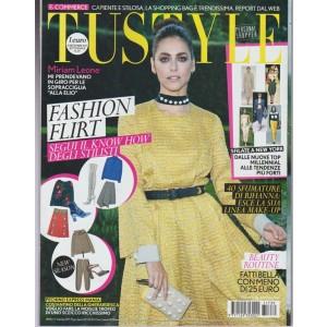 Tu Style -settimanale n.39 -19 settembre2017 Miriam Leone sopracciglia alla Elio