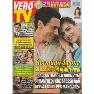Vero Tv - settinmanale n. 38 - 25 settembre 2017 - Germano-Leone: in arte Nino