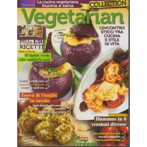 Vegetarian collection -bim.n.3 -Oferta 3 numeri (7-8-9) della rivista Vegetarian